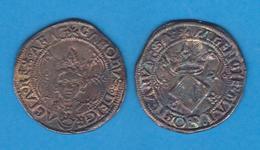 CARLOS I DE ESPAÑA (1.516 - 1.556) 2 REALES PLATA Valencia Réplica  DL-12.107 - Antiche