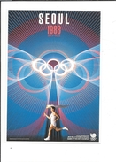 16733 -  Swatch Seoul 1988  Swatch Historical Olympic Games Collection - Publicité