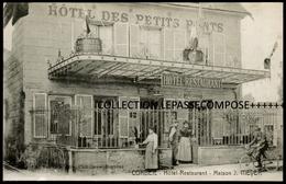 TOP CORBEIL ESSONNES - HOTEL RESTAURANT DES PETITS PONTS - MAISON MEYER ( AUJOURD HUI AU N° 1 AV. DARBLAY ) - Corbeil Essonnes