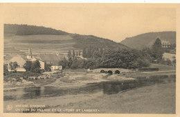 VRESSE SUR SEMOIS / LE PONT SAINT LAMBERT ET LE VILLAGE - Vresse-sur-Semois