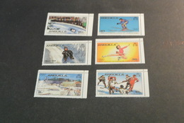 K10989- Set MNH Anguilla - Olympics 1980- Lake Placid