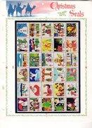 ETATS UNIS 18 - Christmas Seals 1975 - Noel 1975 (Dessins D´enfants, Pere Noel, Etc...) Neuf ** (MNH) Sans Charniere - Unused Stamps
