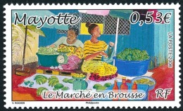 MAYOTTE 2006 - Yv. 189 **   Cote= 2,10 EUR - Marché En Brousse  ..Réf.AFA22676 - Ungebraucht