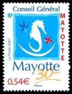 MAYOTTE 2007 - Yv. 198 **   Cote= 2,20 EUR - Conseil Général  ..Réf.AFA22685 - Mayotte (1892-2011)
