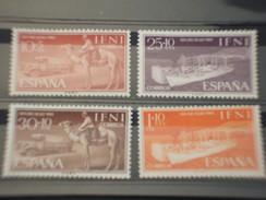 IFNI - 1961 MEZZI  4 VALORI - NUOVI(++) - Ifni