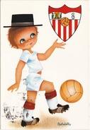 Carte D' Un Club De Football Espagnol - Voetbal