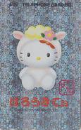 Télécarte Japon HOLO 3 D / 110-016 - ZODIAQUE - CHAT KITTY - MOUTON - HOROSCOPE SHEEP & CAT Animal Japan Phonecard  1029 - Zodiaco