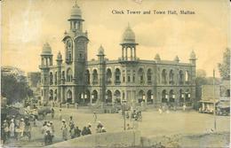 PAKISTAN MULTAN CLOCK TOWER AND TOWN HALL - Pakistan