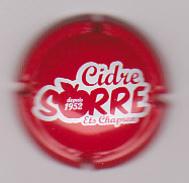 Capsule Cidre ( Cidre SORRE Ets Chapron ) {S19-17} - Capsules & Plaques De Muselet