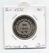 Francia - Colonie - Indocina Francese - 1936 - 50 Centesimi - Argento - (FDC4505) - Colonie