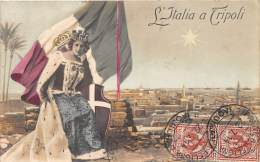 LIBYE / L' Italia A Tripoli - Belle Oblitération - Libye