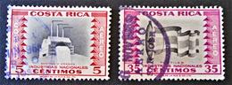 POSTE AERIENNE 1954 - OBLITERES - YT PA 225 + 231 - Chili