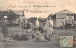 MADAGASCAR - DIEGO SUAREZ / Marchands De Riz - Beau Cliché Animé - Madagascar