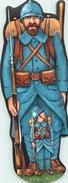 POILU - 1916 -  Et POILU ENFANT - MARQUE-PAGES - Envergure (18 X 7 Cm) - édition Des Années 50  - TRES BEL ETAT. - Lesezeichen