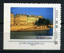 "ILE SAINT LOUIS Adhésif Neuf ** . Collector "" PARIS ""  2009 - France"