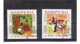 ALB116  ALBANIEN 1976  MICHL  1800/01 Used / Gestempelt SIEHE ABBILDUNG - Albania