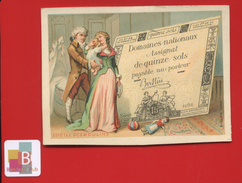 Chromo Bognard PARIS Révolution Française Numismatique Papier Monnaie Assignat Lucille Desmoulins - Trade Cards