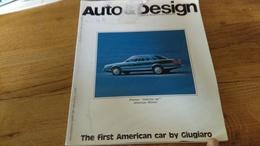 94/ AUTO ET DESIGN 44 CONCETTO ARCHITETTURA IMMAGINE THE FIRST AMERICAN CAR BY GIUGIARO - Books, Magazines, Comics