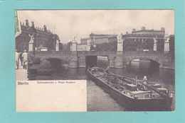 Old Postcard Of Schlossbrucke,Berlin, Germany,Posted,R36. - Germany