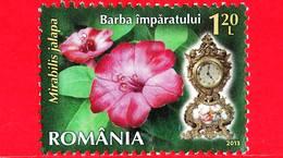 ROMANIA - Usato - 2013 - Fiori - Bella Di Notte (Mirabilis Jalapa L.) - Orologio 5 P.m - 1.20 - 1948-.... Repubbliche