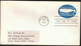 United States New Bedford 1970 / Herman Melville / Moby Dick / Postal Stationery - Storia Postale