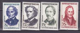 N° 1146 à  1149 4 Val:Grands Savants: Série EnTimbre Neuf Sans Charnière Impeccable - Unused Stamps