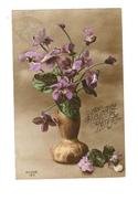 Heureuse Année - Bouquet De Violettes - Diane - 1575 - Nouvel An