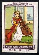 Nestlé - 21B - Anciens Instruments De Musique, Old Musical Instruments - 6 - La Viole, Viool, Violin - Nestlé