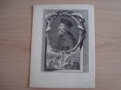 Lithographie JEAN HUS. - Storia