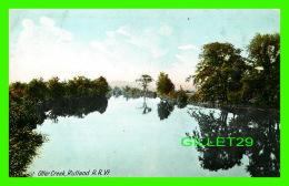 RUTLAND, VT - OTTER CREEK -  TRAVEL IN 1909 -  THE HUGH C LEIGHTON CO - - Rutland