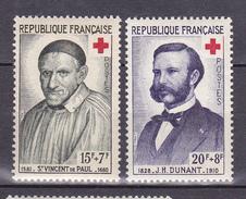 N° 1187 Et 1188 Au Profit De La Croix Rouge: Timbres Neuf Sans Charnière Impeccable - Unused Stamps