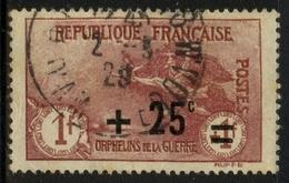 France N° 168 Obl. Càd Centrage Parfait - Cote 48 Euros - TTB Qualité - France