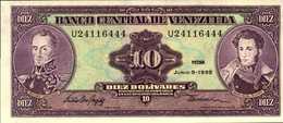 VENEZUELA 10 BOLIVARES  Du 5-6-1995  Pick 61d  UNC/NEUF - Venezuela