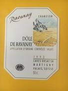 4116 -  Dôle De Ravanay Chamoson 1993 Valais Suisse - Art