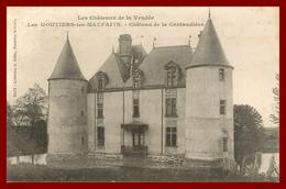 Thème Chateau De Vendée * Les Moutiers Les Maufaits  * Le Chateau De La Cantaudière  ( Scan Recto Et Verso ) - Autres Communes