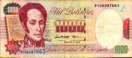 VENEZUELA 1000 BOLIVARES  Du 6-8-1998  Pick 76d - Venezuela