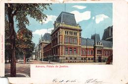 Antwerpen Anvers  Gerechtshof Palais De Justice   Justitiepaleis  Schade Links Onderaan!      X 1825 - Antwerpen