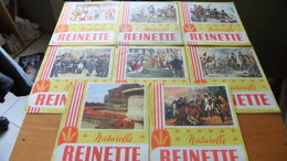 Année 60 Lot De 8 Buvards REINETTE.... - Colecciones & Series