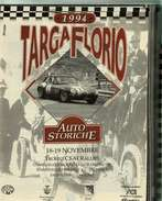 X TARGA FLORIO 1994 AUTO STORICHE TROFEO CSAI PROGRAMMA ISCRITTI PS ALBO D'ORO RR - Automobilismo - F1