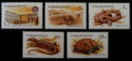 PARC NATUREL REPETEK 1994 - NEUFS ** - YT 50/54 - MI 41/45 - Turkménistan