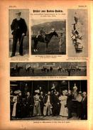 Bilder Baden-Baden,sächsisches Karabinerregiment In Borna,Denkmal 32er Wörth /Artikel ,entnommen Aus Zeitschrift,1899 - Livres, BD, Revues