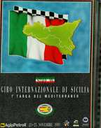 X GIRO INTERNAZIONALE DI SICILIA 1^ TARGA DEL MEDITERRANEO NUMERO UNICO PAG.52 RRR - Automobilismo - F1