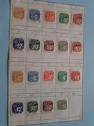 Lot Timbres / Stamps Böhmen U. Mähren - Cechy A Morava ( Zie Foto's ) ! - Bohême & Moravie