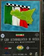 X GIRO INTERNAZIONALE DI SICILIA 2^ TARGA DEL MEDITERRANEO NUMERO UNICO RRR - Automobile - F1