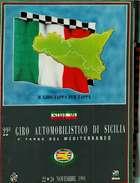 X GIRO INTERNAZIONALE DI SICILIA 3^ TARGA DEL MEDITERRANEO NUMERO UNICO RRR - Automobilismo - F1