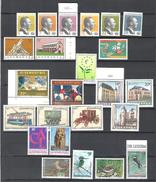 Luxembourg 1993 Année Complete/Jahr Komplett MNH **; Certains Avec Bord / Rand; Mi 1310-1333 - Luxembourg