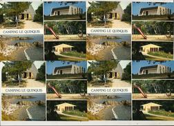 Prix Fixe: CAMPING Du QUINQUIS - 4 Cartes Neuves - B.E.B. N°29121 - Clohars-Carnoët