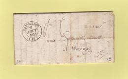 Bricquebec - 48 - Manche - 2 Aout - Marcophilie (Lettres)