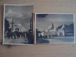 2 PHOTOS D'ALGERIE - Lieux