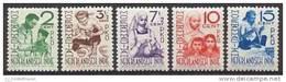 Nederlands Indie NVPH Nr 293/297 Ongebruikt (MLH, Neuf Avec Charniere) Moehammadijah - Nederlands-Indië
